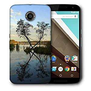 Snoogg River And Clouds Designer Protective Phone Back Case Cover For Motorola Nexus 6
