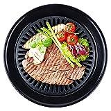 Outdoor Grill vassoio barbecue cestini BBQ vegetale non bastone padella rotondo pizza griglia vassoio, medio-portatile in alluminio accessori per barbecue per grigliare pesce carne di pollo