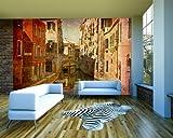 Vlies Fototapete - Venedig V - 420x270 cm - Inklusive Kleister - Tapetenkleister – Bild auf Tapete – Bildtapete – Foto auf Tapeten – Wand – Wandtapete – Vliestapete – Wanddeko - Design