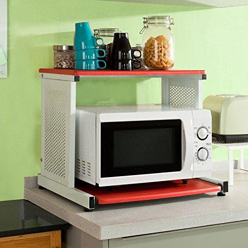 Mensola microonde tovaglioli di carta - Mobiletto per forno microonde ...