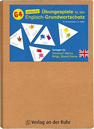 piele für den Englisch-Grundwortschatz: Vorlagen für Triomino®, Memo, Bingo, Board Game ()
