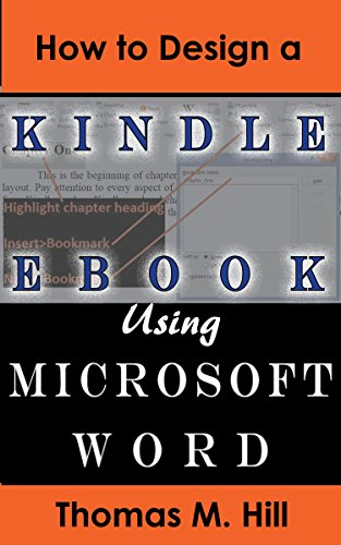 How to Design a Kindle eBook Using Microsoft Word: Format a Kindle ...