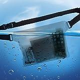 Wasserdichte Taschen trockentasche wasserdichter Beutel strandtasche Bauchtasche zum Bootfahren Kajak Kanu Angeln Rafting Schwimmen Segeln Skifahren Snowboarden mit wasserdichten Handyhülle (Durchlässig) -