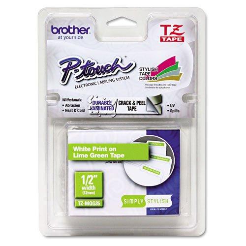 Preisvergleich Produktbild Brother Original P-touch Schriftband TZe-MQG35 (für Brother P-touch PT-H100LB/R, -H105, -E100/VP, -D200/BW/VP, -D210/VP)