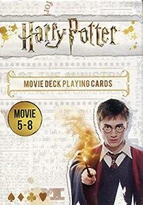 Cartamundi 108174128b Harry Potter - Juego de Cartas (películas 5 a 8), diseño de Harry Potter