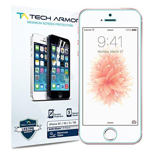 Tech Armor Matte Screen Protector   Protector de pantalla para Apple iPhone 5/5S/5C