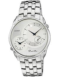 Citizen Analog White Dial Men's Watch - AO3005-56B