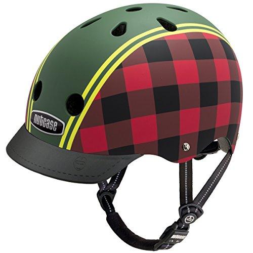 Nutcase Gemusterter Street Bike  für Erwachsene, Mehrfarbig (Lumberjack), M (56-60 cm)