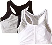 Fruit of the Loom Women's Front Close Racerback (Pack o