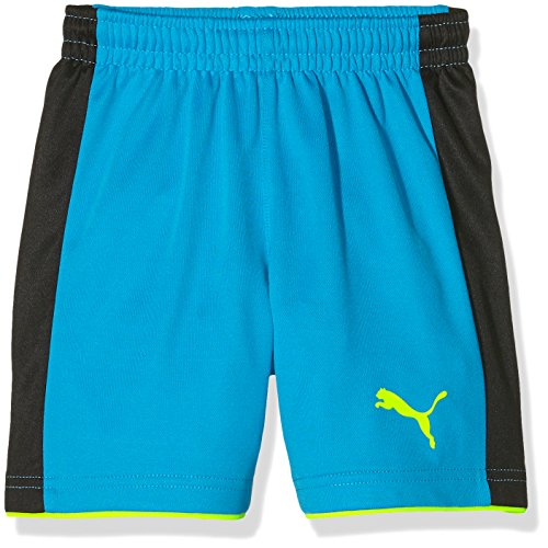 Puma Kinder Hose Tournament GK Shorts, Atomic Blue-Safety Yellow, 116, 702196 33 (Shorts Gk)