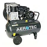 Aerotec 650-90 Kompressor 15 bar, 90 Liter Kessel und 400V Anschluss