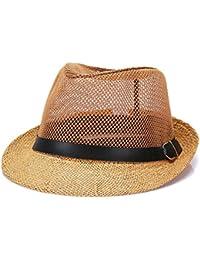 Amazon.it  Fletion - Cappelli Panama   Cappelli e cappellini ... 727495ef0b1b