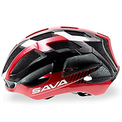 SAVA Adjustable Adults Cycling Bike Helmet with Inner Padding Specialized for Men Women Safety Protection ( Ultralight, 31 Vents Ventilation and Integrally-molded ) by SAVA