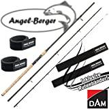 DAM Spezi Stick Feeder 3,60m 50-150g Feederrute mit Angel Berger Rutenband