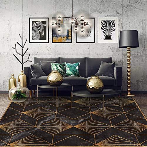 Fancytan - Alfombra de Estilo nórdico con diseño geométrico, tamaño Grande para salón o Pasillo...