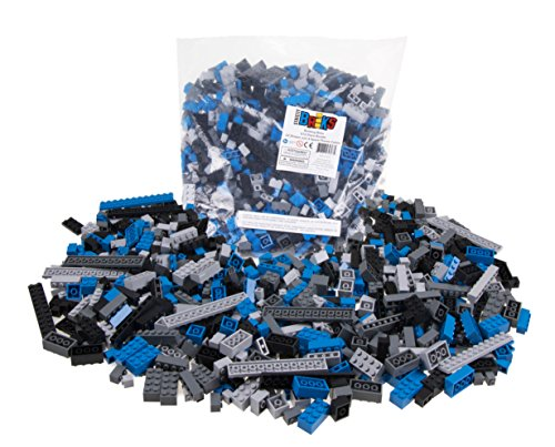 Strictly-Briks-Premium-Black-Blue-Gray-and-Dark-Gray-Space-Themed-672-Piece-Loose-Building-Brik-Set-Compatible-with-All-Major-Brands