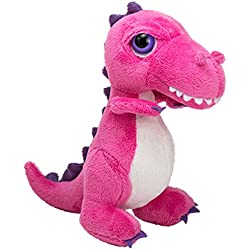 Suki diseño de regalos de suave las normas internacionales T-para artes marciales y lucha Dino dinosaurio muñeco de peluche de (de la pequeña, color rosa y) de los juguetes