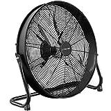 TROTEC Ventilateur de Sol TVM 20 D | Puissance de 120 Watts | 3 Niveaux de Vitesse | Tête du Ventilateur inclinable à 180° | Diamètre des pales 50 cm