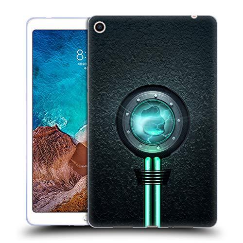 Head Case Designs Offizielle Alyn Spiller Reaktor Wasser Elementar Soft Gel Hülle für Xiaomi Mi Pad 4 Plus -