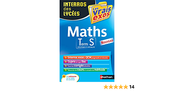 Interros Des Lycees Maths Term S Amazon Fr Crouzier Anne Eynard Daniele Livres