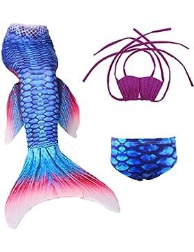 Das Beste Mädchen Meerjungfrauen Bikini Kostüm Meerjungfrau Schwimmanzug Badeanzüge Tankini