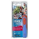 Oral-B Stages Power Kids - Cepillo de dientes eléctrico de los personajes de Los vengadores de Marvel