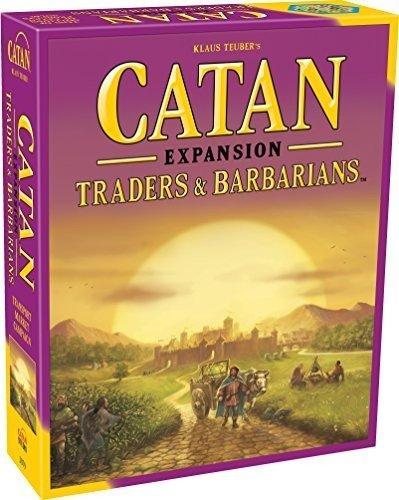 Mayfair Games MFG03079 – Brettspiele, Catan, Traders und Barbarians Expansion
