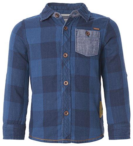 noppies-b-shirt-ls-alamo-check-chemisier-garcon-bleu-blau-dark-blue-c165-104-cm