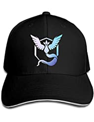 Feruch Unisex Adult Pokemon GO Articuno Snapback Hats/Baseball Caps Black