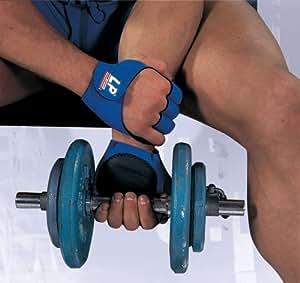LP Neoprene Fitness Gloves - Blue/White/Black, Large
