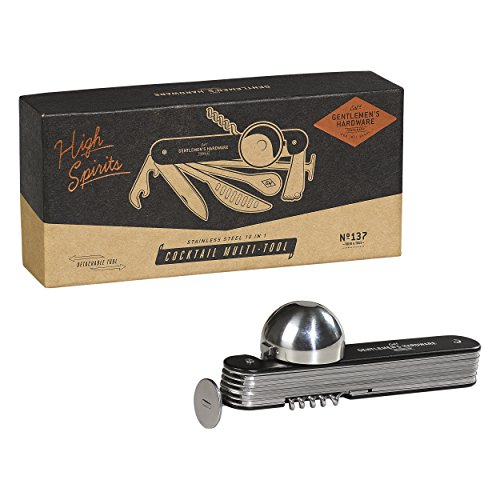 Gentlemen 's Hardware Cocktail Multitool, silber (Single-schäler)