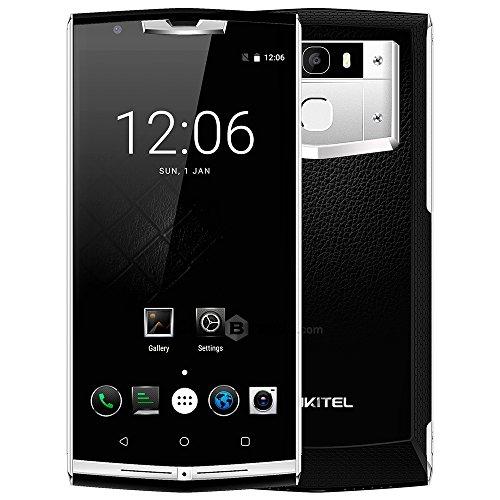 Oukitel K10000 Pro 4G Smartphone 10000mAh Batterie 5.5 FHD Android 7.0 3GB RAM 32GB ROM MT6750T Gorilla Glass Écran Octa Core 1.5GHz Dual SIM 5MP 13MP Caméra Front ID Empreinte Digitale OTG Charge Rapide
