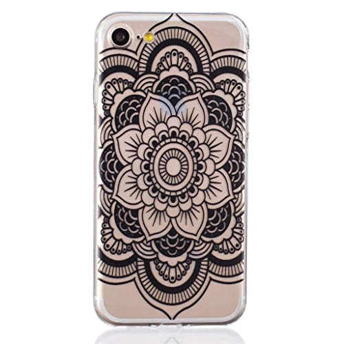 "MYTHOLLOGY Coque iPhone 7 - SEUL Pour 4.7"" iPhone 7 Coque Silicone Coque Souple Slim Coussin Etui Housse - BHHS HSDH"