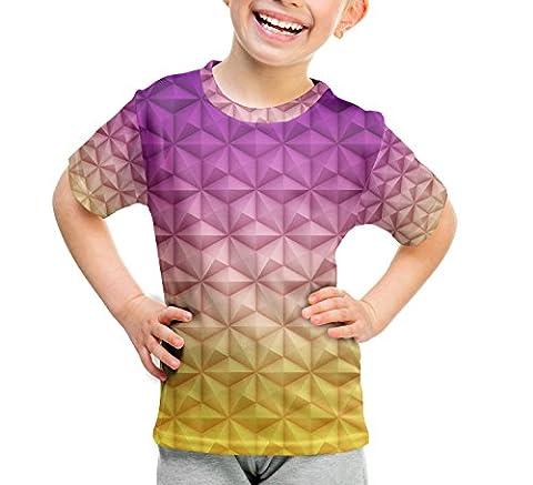 Epcot Spaceship Earth Kids Cotton Blend T-Shirt - 5