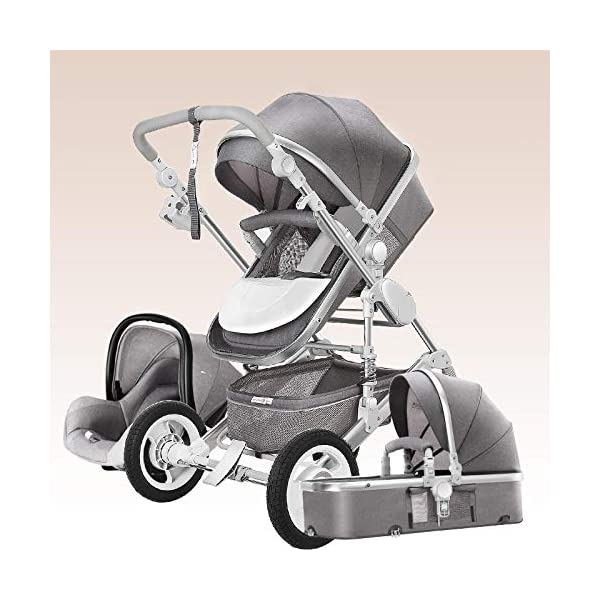 Stroller 3 in 1 Stroller Travel Baby 6 CZPF ➤Switch between kids tricycle and baby balance bike by pedals. No pedal design help your kids develop essential bike skills such as balance, steering and coordination; With pedal it can help kids master riding skills ➤SAFE AND STURDY: CE Certification, all the materials and design are safe for kids. kids tricycles use non-slip handlebar, comfortable PU leather seat, durable wheels, sturdy steel frame and stable triangular structure to ensure convenience and safety. 3 wheels provide a safe riding for your kids ➤Only need two Steps to open or fold. It is almost fully assembled. Just use the wrench to put some of the parts. The package includes instructions and wrench. it is easy to carry and easy for a child to handle 5