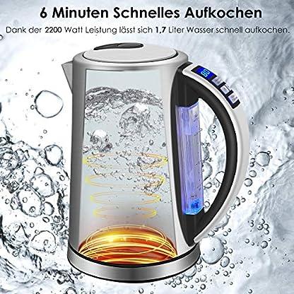 DESTRIC-Edelstahl-Wasserkocher-mit-LED-Innenbeleuchtung-17L-Teekessel-mit-Temperatureinstellung-2-Stunden-Warmhaltefunktion-fr-Babyernhrung-Getrnke-5-Farbwechsel-Trockengehschutz-Silber