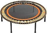 bellicon Classic Mini-Trampolin, orange, ø 125cm, Klappbeine, bis 200 kg, inkl. umfangreichem...