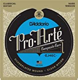 D'Addario EJ46C Pro-Arte Satz Nylonsaiten für Konzertgitarre - Hard Tension