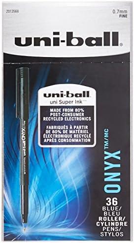 Uni-Ball Onyx penna roller Punta fine 72-Count blu | Lascia Lascia Lascia che i nostri beni escano nel mondo  | Per Essere Altamente Lodato E Apprezzato Dal Pubblico Dei Consumatori  | Conosciuto per la sua buona qualità  9de0cb