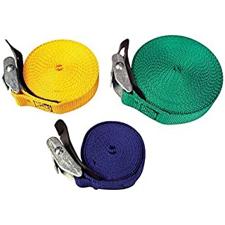 Riverstones Ancra Strap 1'' X 18' - Green PER528RS by Riverstones