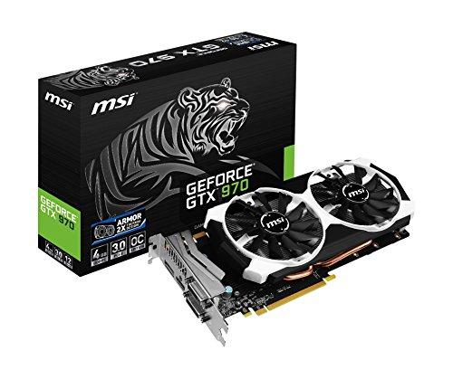 MSI GeForce GTX 970 - Tarjeta gráfica GeForce GTX 970 (ATX, HDMI, DL