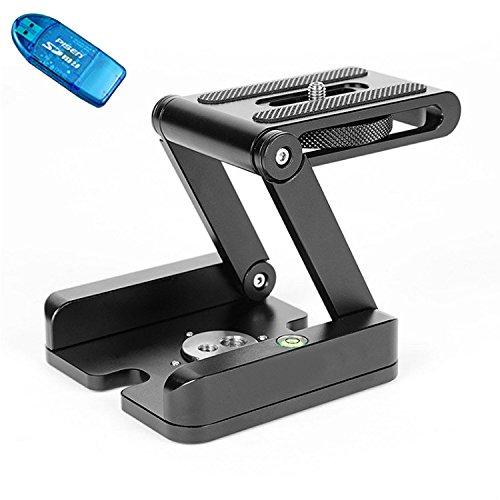 first2savvv-xjpj-ytsp-c01-dslr-folding-camera-z-desktop-stand-holder-tripod-flex-pan-tilt-ball-head-