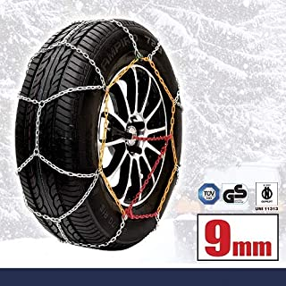 Sumex Classic Schneeketten Premium Alu-Stahl Made Husky HUSA100 Premium Winter Systeme Classic 100; 9 mm