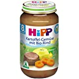 Hipp Kartoffel-Gemüse mit Bio-Rind, 6-er Pack (6 x 220 g) - Bio