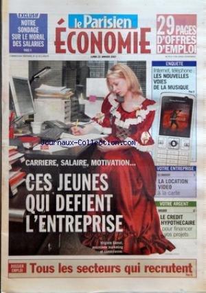PARISIEN ECONOMIE (LE) du 22/01/2007 - EXCLUSIF - ...