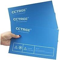 CCTREE - Placa de superficie para impresora 3D para Dremel, FlashForge Creator Pro, BIBO, QIDI X-Pro 230 x 150 mm (Pack de 3)