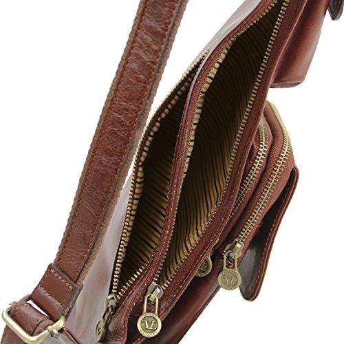Tuscany Leather Monospalla in pelle Marrone Marrone