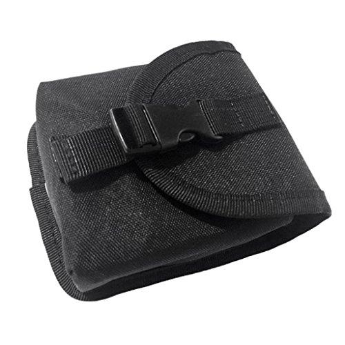 Sharplace Tauchen Ersatz Bleigurt Taschen, Stark und Langlebig - Schwarz