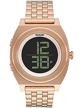 Nixon Unisex-Armbanduhr Digital Quarz Edelstahl A948897