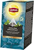 Lipton English Breakfast Schwarztee Pyramidbeutel, 2er Pack (2 x 108 g)